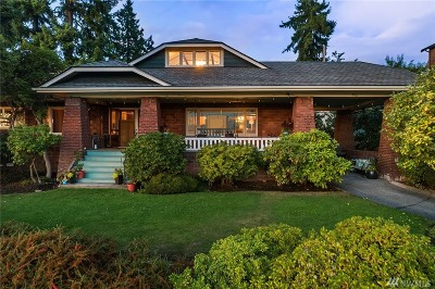 Kirkland Single Family Home For Sale: 508 8th Ave W