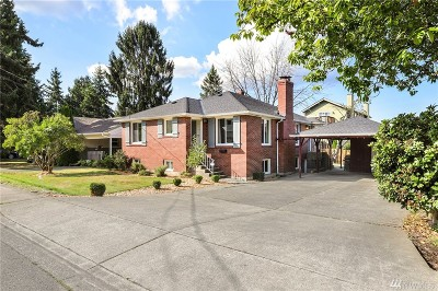 Seattle Single Family Home For Sale: 8432 S 115th St