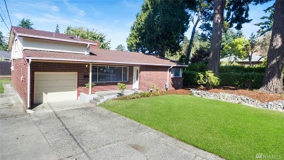 Tacoma Single Family Home For Sale: 3615 N 15th St