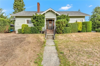Bellingham Single Family Home For Sale: 2901 Ellis St
