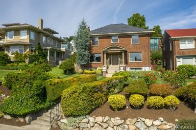 Seattle Single Family Home For Sale: 334 W Kinnear Place