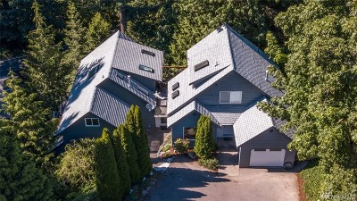 Bellingham Single Family Home For Sale: 1500 Silver Beach Rd
