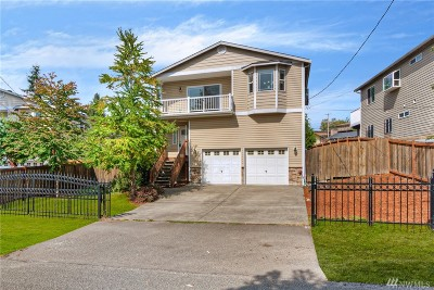 Seattle Single Family Home For Sale: 5530 S Wallace St