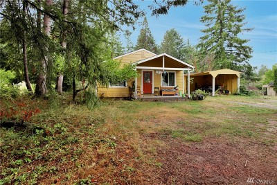 Olympia Single Family Home For Sale: 2621 14th Ave NW