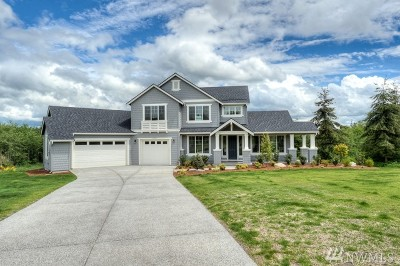 Stanwood Single Family Home For Sale: 16411 63rd Ave NW