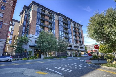 Tacoma Condo/Townhouse For Sale: 708 Market St #506