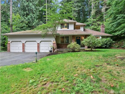 Woodinville Single Family Home For Sale: 19317 229th Ave NE
