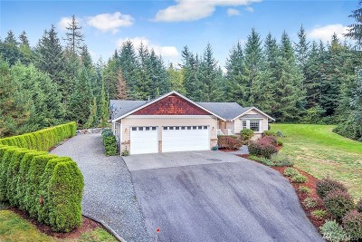 Snohomish Single Family Home For Sale: 6625 203rd Ave SE