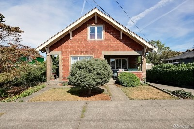 Seattle Single Family Home For Sale: 3816 S Eddy St