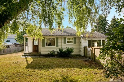 Seattle Single Family Home For Sale: 13019 Meridian Ave N