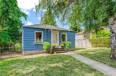 Seattle Single Family Home For Sale: 3809 33rd Ave W