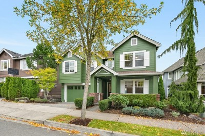 Issaquah Single Family Home For Sale: 1545 24th Ave NE