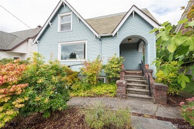 Seattle Single Family Home For Sale: 1310 NW 85th St