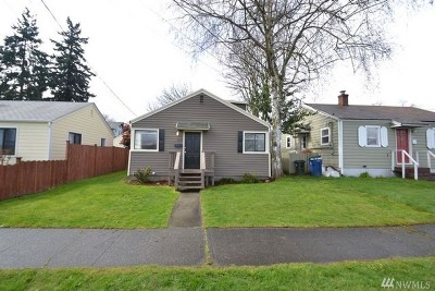 Tacoma Single Family Home For Sale: 3806 S Asotin St
