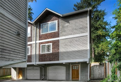 Seattle Single Family Home For Sale: 12311 Roosevelt Wy NE #B