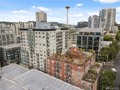 Seattle Condo/Townhouse For Sale: 2607 Western Ave #301