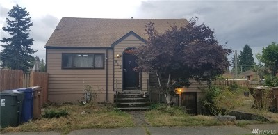 Tacoma Single Family Home For Sale: 915 S Washington