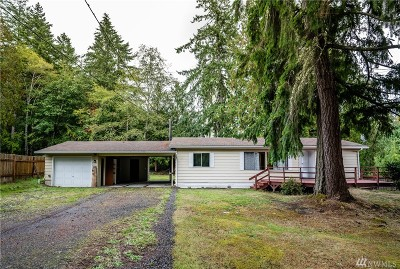 Olympia Single Family Home For Sale: 9818 Lookout Dr NW