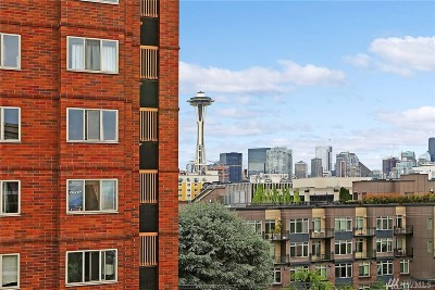 Seattle Condo/Townhouse For Sale: 530 4th Ave W #406