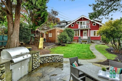 King County Single Family Home For Sale: 318 N 74th St