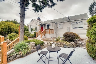 Seattle Single Family Home For Sale: 2817 NW 92nd St