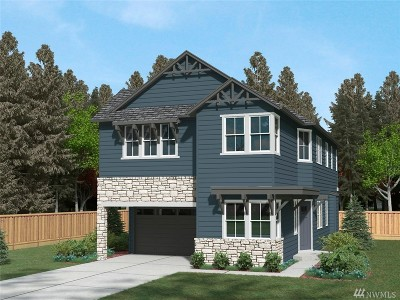 Sammamish Single Family Home For Sale: 24621 NE 13th (Homesite 42) Place NE