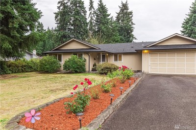 Puyallup Single Family Home For Sale: 8308 122nd St E