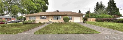 Tacoma Single Family Home For Sale: 819 N Mullen St