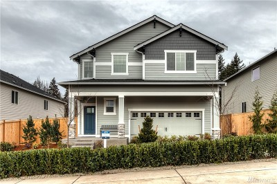 King County Single Family Home For Sale: 2022720236 SE 259 (Lot 210) Place