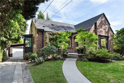Seattle Single Family Home For Sale: 8508 30th Avenue NW