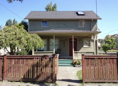 Seattle Single Family Home For Sale: 1124 NW 57th St