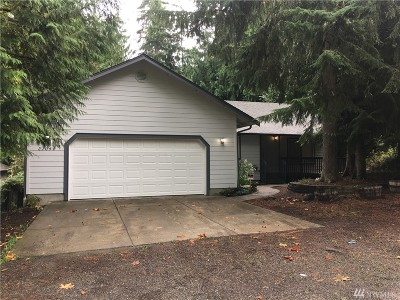 Thurston County Single Family Home For Sale: 22044 Bluewater Dr SE