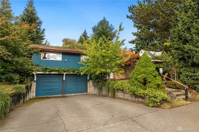 King County Single Family Home For Sale: 8021 43rd Ave NE