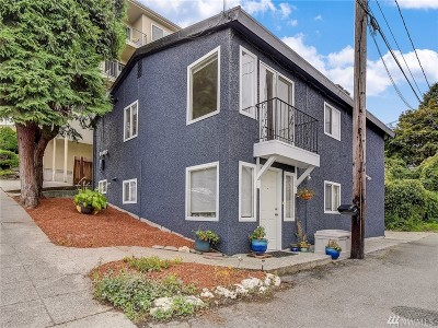 Seattle Single Family Home For Sale: 3011 Warren Ave N