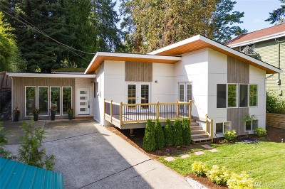 King County Single Family Home For Sale: 9719 19th Ave NE
