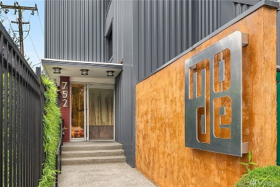 King County Condo/Townhouse For Sale: 752 Bellevue Ave E #312