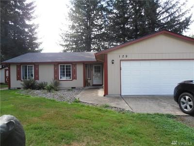 Chehalis Single Family Home For Sale: 129 N Prairie Rd