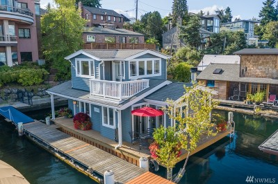 King County Single Family Home For Sale: 1210 E Shelby St #G