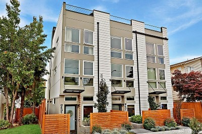 Seattle Single Family Home For Sale: 2431 NW 62nd St #B
