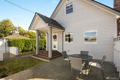 Seattle Single Family Home For Sale: 151 N 79th St