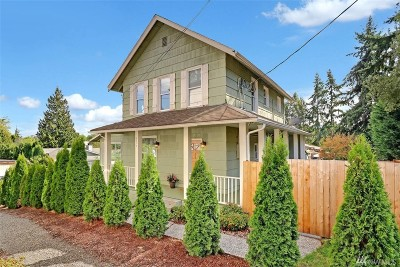 King County Single Family Home For Sale: 2717 NE 110th (Not Busy) St