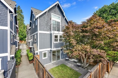 Seattle Single Family Home For Sale: 914 N 74th St
