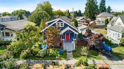 Tacoma Single Family Home For Sale: 636 N Oakes St