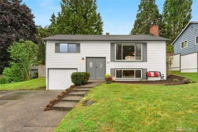 King County Single Family Home For Sale: 3843 NE 96th St