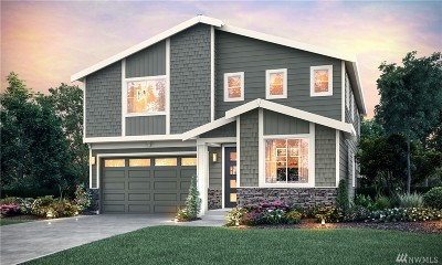 Marysville Single Family Home For Sale: 8721 75th (Lot 8) St NE