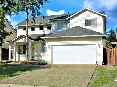 Spanaway Single Family Home For Sale: 7529 195th St Ct E