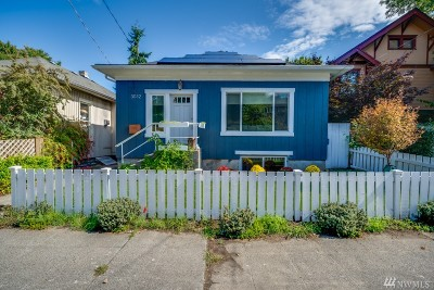 King County Single Family Home For Sale: 3032 22nd Ave W