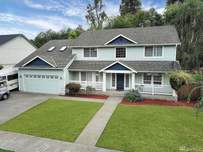 Pierce County Single Family Home For Sale: 15504 88th St E