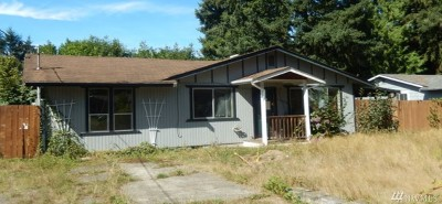 Puyallup Single Family Home For Sale: 14608 117th Av Ct E