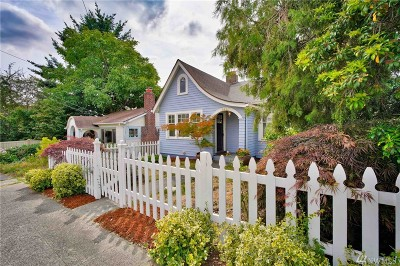 King County Single Family Home For Sale: 8415 Fremont Ave N